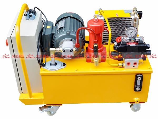 大兰液压动力站液压系统