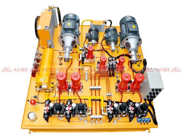 大兰压装机液压系统