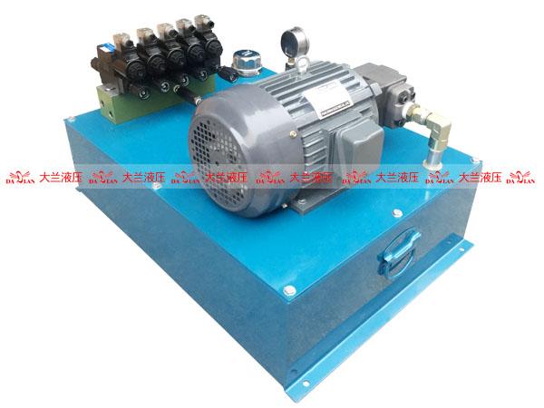大兰液压厂家5缸中压液压系统