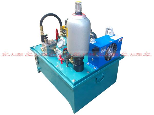 大兰液压变量泵保压液压系统