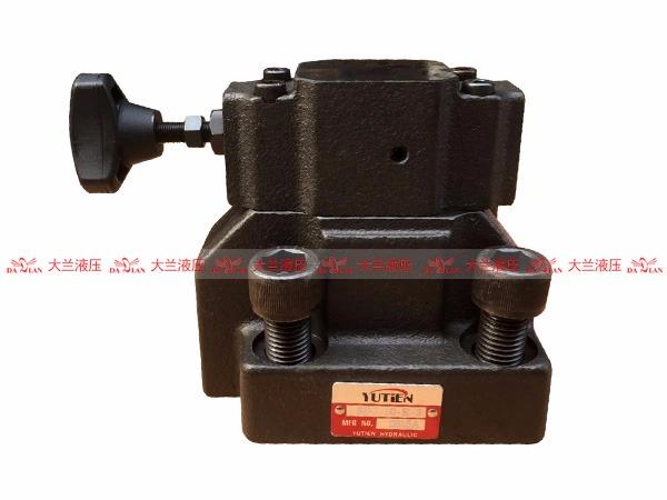 SBG板式低噪音引导式溢流阀