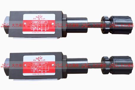 大兰MBRV叠加式减压阀